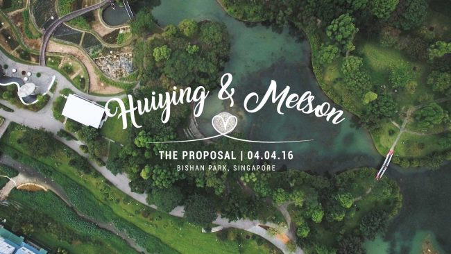 Huiying & Melson Proposal Video